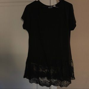 CATO Bottom Lace Blouse